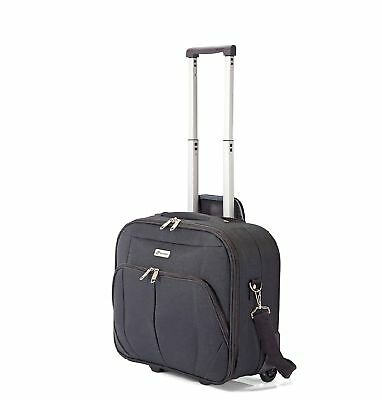 Business Trolley Pilotenkoffer Handgepäck Ryanair konform Laptop bis 14.5""
