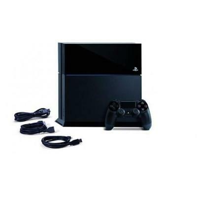 Black Playstation 4 PS4 500GB CONSOLE - PRE-OWNED