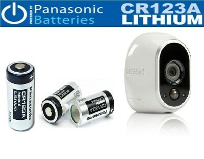 12pcs Brand New Panasonic CR123A Battery For Netgear Arlo Security Camera