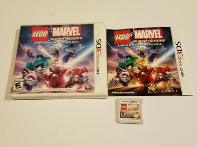 LEGO Marvel Super Heroes - Universe in Peril Nintendo 3DS COMPLETE TESTED