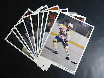 1979-80 Buffalo Sabres Photo Lot Of 9