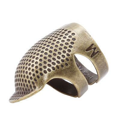 Metal Sewing Thimble Pins Needles Quilting Hand Craft Finger Protector 8C