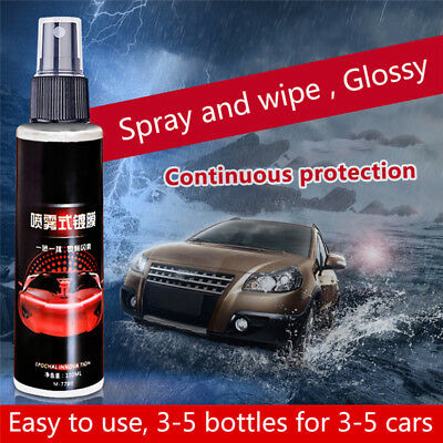 100ML 9H Antiscratch Liquid Ceramic Car Coating Hydrophobic Glass Polish Clean