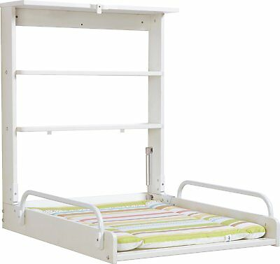Roba 26015W V97 Changer diaper wall colour white weight of 15 kg