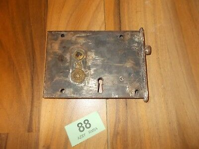 Vintage Rim Lock Door Latch Lock Door Furniture 88