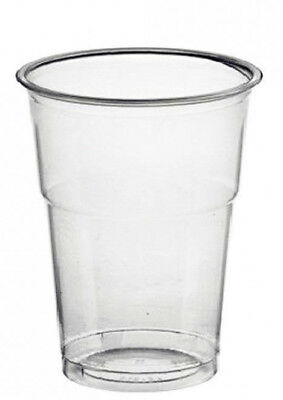 8oz (250ml) Recyclable Plastic Cups - 500 Pack