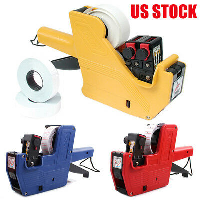 MX-5500 EOS 8 Digits Price Tag Gun Labeler Retail Tool With 400PCS Lines Labels