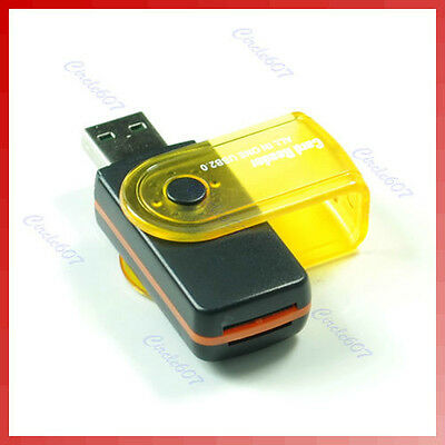 Multi memory card reader HIGH SPEED USB 2.0 PC Adapter For Mp3 Mp4 Mobile Phone