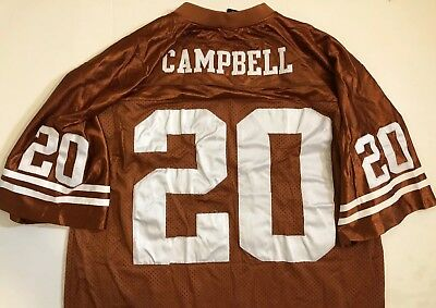 separation shoes ccd4a d31fb EARL CAMPBELL TEXAS Nike NCAA jersey Men's XL Longhorns 77 Embroidered EUC