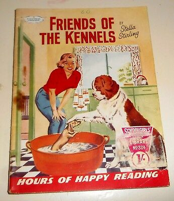 #324 Schoolgirl's Own Library Comics ~ FRIENDS OF THE KENNELS ~ 1960