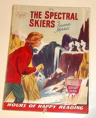 #320 Schoolgirl's Own Library Comics ~ THEIR SPECTRAL SKIERS ~ 1959