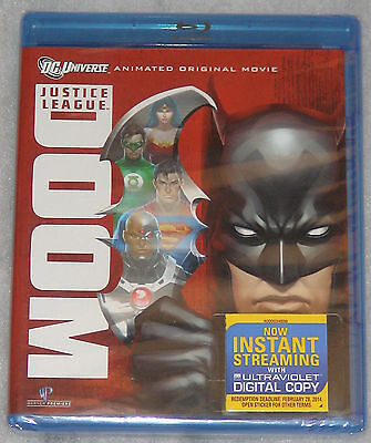 Justice League: Doom - Blu-Ray - NEW & SEALED