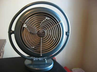 Beautiful Vintage Industrial Mimar Heating & Cooling Fan Mp De Luxe 212-A