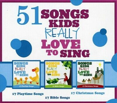 Various Artists, Kid - 51 Songs Kids Really Love to Sing [New CD]