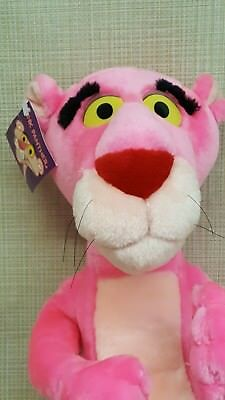 """Pink Panther Large Plush 22"""" Tall NWT stuffed animal toy gift lovey"""