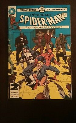 Spiderman  #105 / 106 High Grade Issue- DC French Comic Book