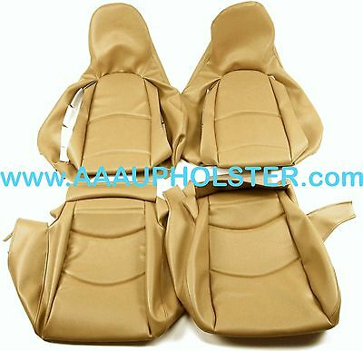 Porsche 911 Carrera 993 1995-1998 Cashmere Leatherette Seat Covers Recovery kit
