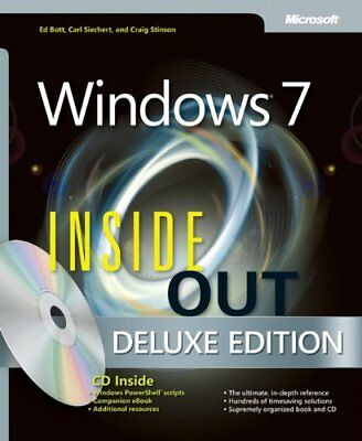 Windows 7 Inside Out, Deluxe Edition (Inside Out (Microsoft ... by Craig Stinson
