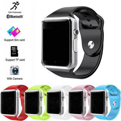 A1 Bluetooth Sport Step Counter Smart Watch GSM Phone For Android Samsung iPhone