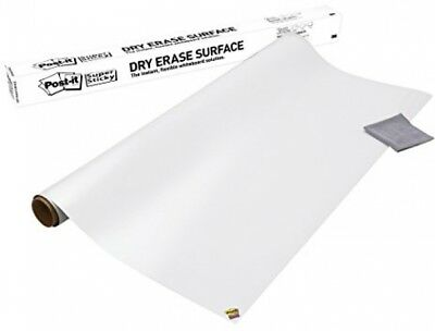 Post-it Dry Erase Whiteboard Film Surface for Walls, Doors, Tables, and More, 3