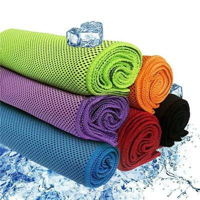 Sports Cooling Towel Ice Cold Cycling Jogging Outdoor Exercise Sweat Towel JJ
