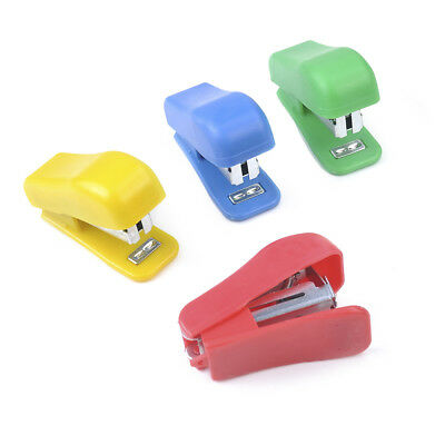 Student School Home Supply Mini Cartoon Paper Document Stapler With Staples Set