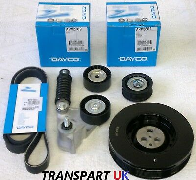ALTERNATOR FAN BELT TENSIONER PULLEY  FORD MONDEO MK3 2.0 & 2.2 WITH A/C 1201181 Car Parts