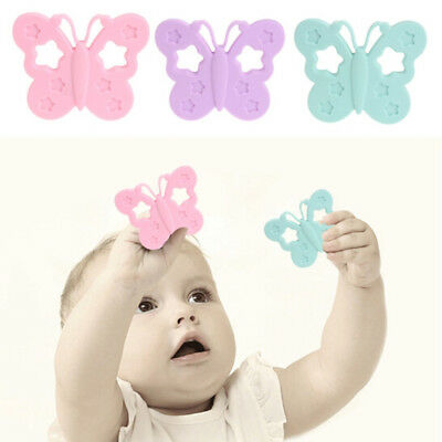 Shape Baby Molar Toy Baby Bite Baby Butterfly Molar Toy Silicone Teether TL