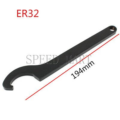 ER32 Collet Chuck C Type Wrench Spanner for Nut CNC Milling Lathe Holder Tool