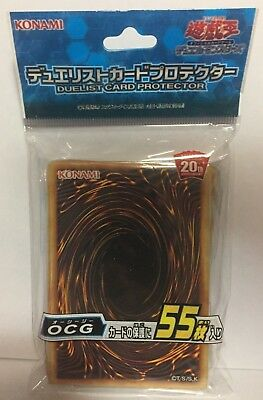 Yugioh Official Card Sleeve Protector : OCG BackSide / 55pcs japan F/S