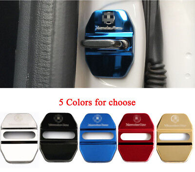 Styling Auto Accessories Stainless Steel Car Door Lock Protective Cover Sticker