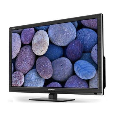 Sharp Lc-24Chf4012E Led Hd Tv 24'' Nero Black Hd Ready Dvb-T/t2/c/s2