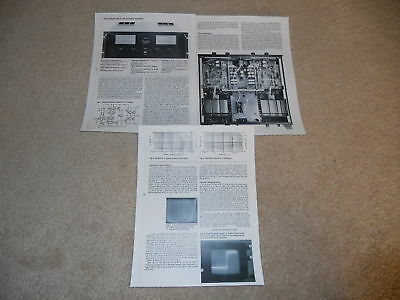Sansui BA-F1 Amplifier Review, 3 pgs, 1980, Full Test