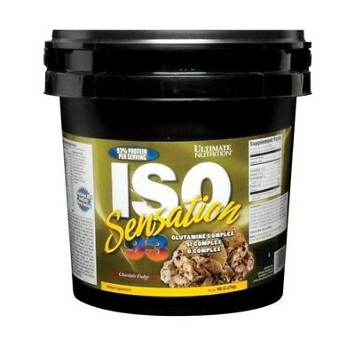 2270g Dose,  30,04 EUR/1Kg Ultimate Nutrition Iso Sensation 93 (5lbs) Chocolate