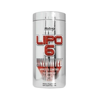 90g Verpackung,  49,76 EUR/100g Nutrex Research Lipo-6 Unlimited (120) Standard