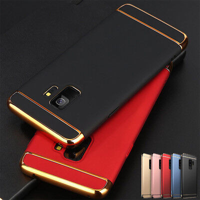 Shockproof Slim Armor Hard Back Case Cover For Samsung Galaxy Note 8 S8 S9 PlusZ