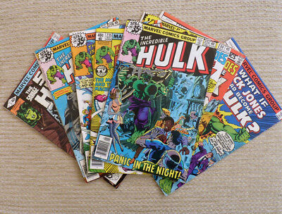 Marvel The Incredible Hulk 229 231 233 235 Savage She Hulk 3 What If 12 LOT