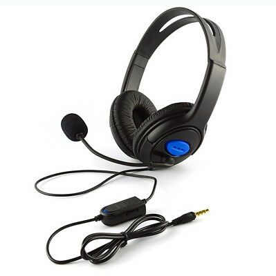 Wired Gaming Headset Headphones with Microphone for PS4 PC Laptop Mac Phone #