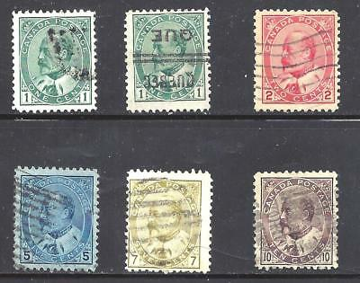 Canada KEVII SELECTION SCOTT 89-93 USED (BS11433-1)