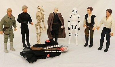 "STARS WARS 11/11.5"" Action Figurines Ashola Tano Han Solo The Phantom And More"