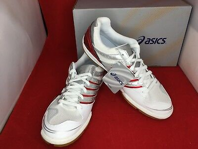 ASICS Table Tennis Shoes Attack BLADELYTE 3 TPA329 White Red US4.5-10