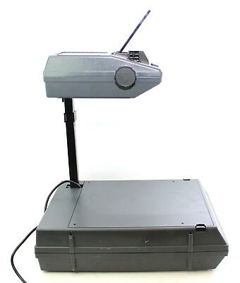 3M 2000 AG Overhead Projector Portable Briefcase Works Great