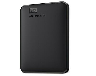 "4TB WD Elements Portable Black 6,3cm (2,5"") USB 3.0 NEU WDBU6Y0040BBK"