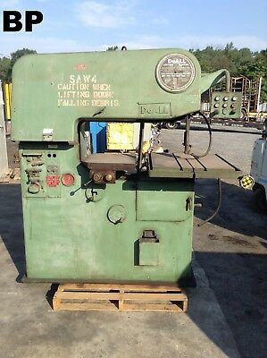 """Doall 36-3 36"""" Variable Speed Contourmatic Vertical Bandsaw w/ 24"""" X 30"""" Table"""