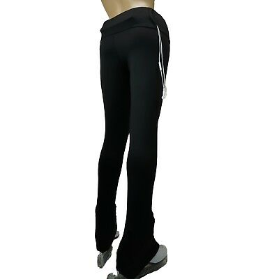 VC High Waist Ice Figure Skating Dress Practice Pants Pockets Trousers VCSP17P