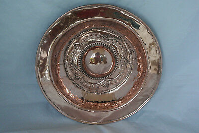 Arts and Crafts copper dish by Philip Fredrick Alexander c1910