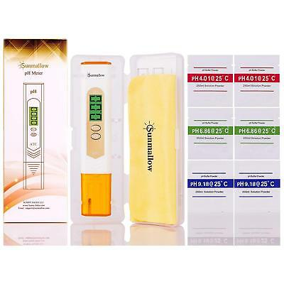 Professional Precision Pen Type pH TEMP Meter Water Quality Monitor Tester, NEW