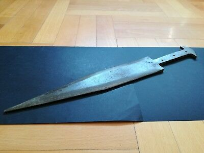 BRONZE AGE SHORT SWORD ANCIENT ILLYRIANS BRONZE WEAPON 1200-900 BC. 40 cm
