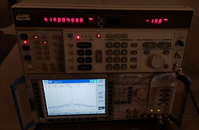 HP 8662A Low Noise Signal Generator 100kHz-1200MHz