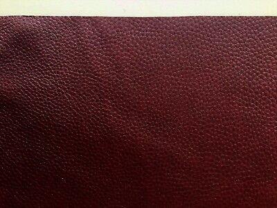Chestnut Brown Leather Full grain 2.5mm Soft Cowhide various sizes